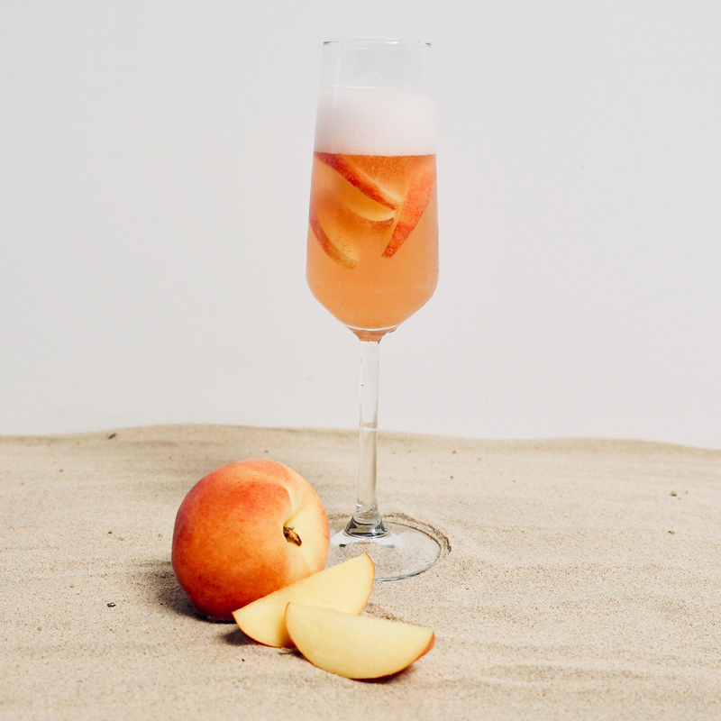 Rosé Bellini Natural Soy Candle - smells like: an elegant blend of rose  petals, vanilla and pink rosé